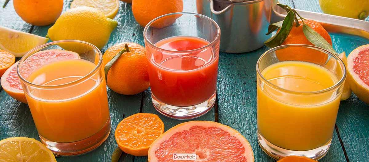 آب میوه پرتقال